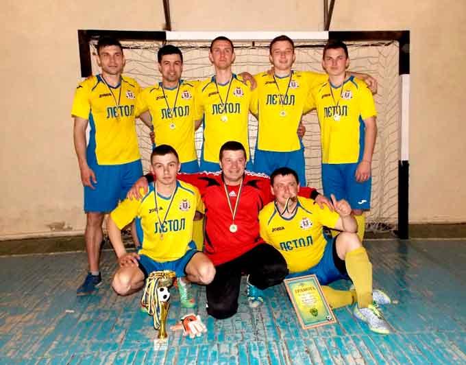 Завершився чемпіонат Чорнобаївського району з міні-футболу