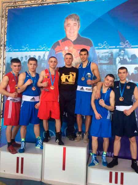 Збірна команда області з боксу виборола нагороди Всеукраїнського турніру
