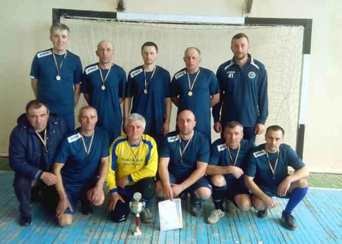 У Чорнобаї відбулися фінальні матчі першості району з міні-футболу серед ветеранів