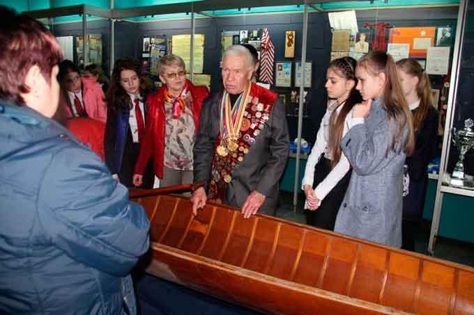 Олімпійський урок провели в краєзнавчому музеї Черкас
