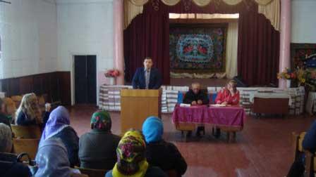 Відбувся сход громадян в селі Коритня