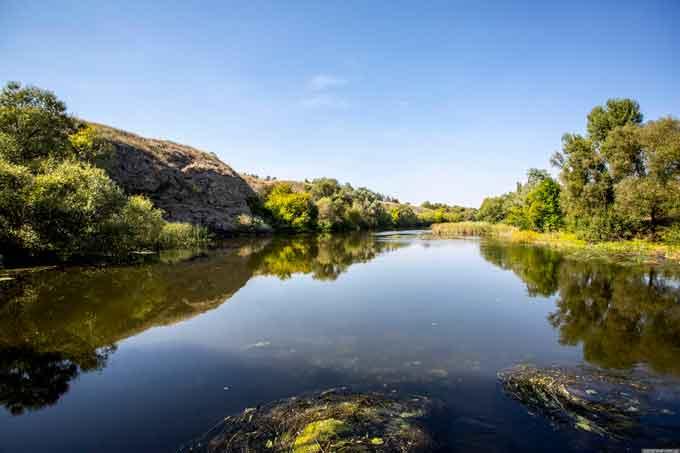 Річка Синюха - одна з найчистіших в Україні