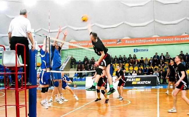 Відбувся Чемпіонаті Черкас з волейболу
