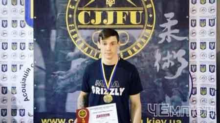 Черкащанин став чемпіоном України із джиу-джитсу