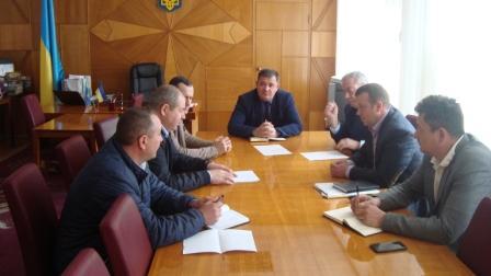 Голова Монастирищенської РДА провів зустріч із інвесторами
