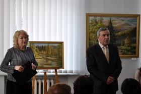 В художньому музеї відкрито виставку живопису Івана Дороша та Віри Кравченко