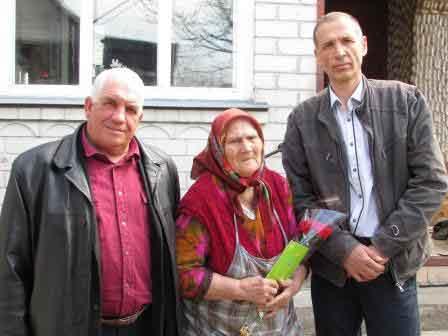 Жителька Шполи відзначила 90-річчя