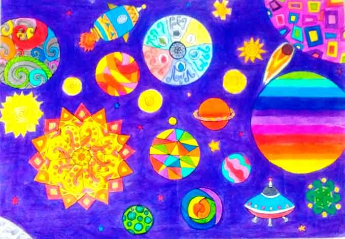 Завершився обласний етап Всеукраїнського гуманітарного конкурсу «Космічні фантазії»