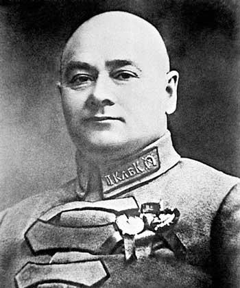 Григорій Котовський в Умані
