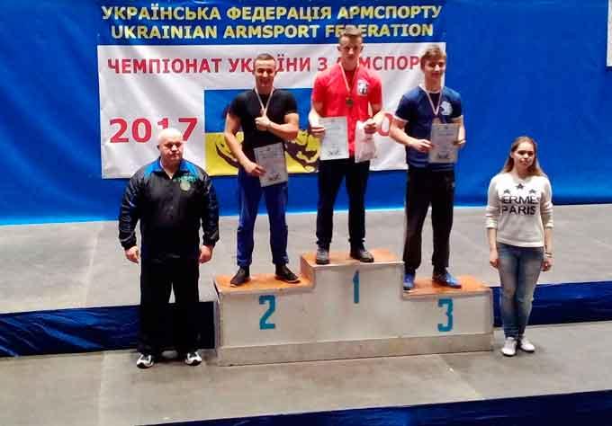 Черкаські армспортсмени – у п'ятірці кращих в Україні