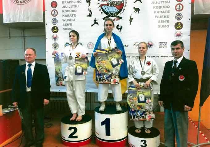 Черкаська студентка перемогла на Балтійській олімпіаді бойових мистецтв