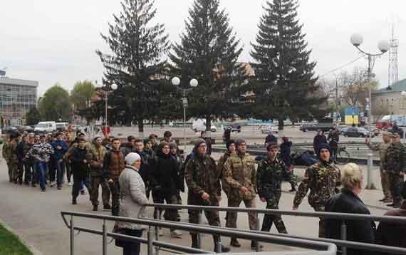 У Смілі відбулися військово-польові збори майбутніх захисників