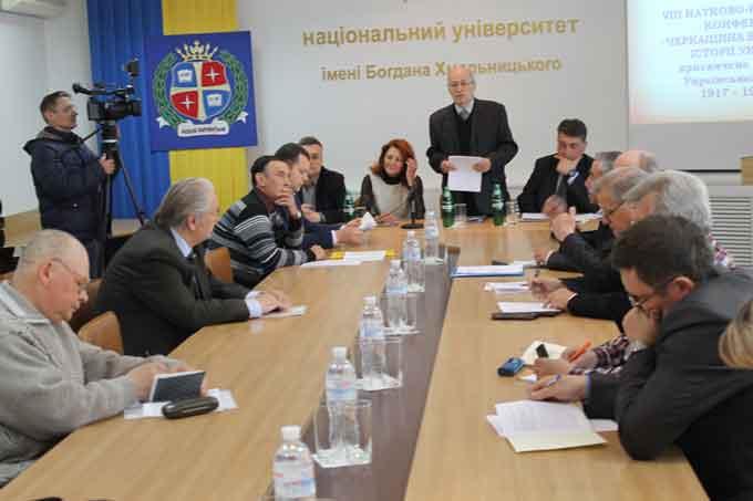 Краєзнавці Черкащини поділилися власними дослідженнями про Українську революцію