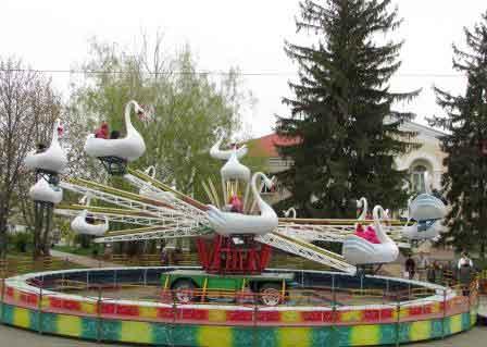 Маленькі шполяни безкоштовно відвідали атракціони «Корсо-парку»