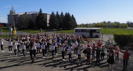 Шполянщина приєдналась до відзначення Міжнародного дня танцю