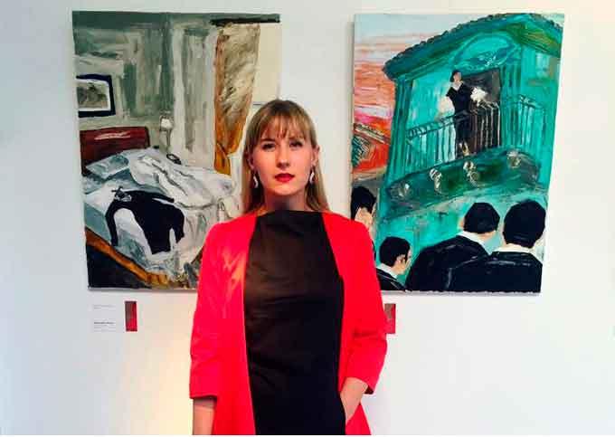 Уманчанка, Одарка Дьома-Пісна в 50-ці кращих художниць світу