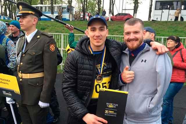 «Ігри нескорених»: Ветеран АТО з Черкас після поранення повернувся у великий спорт
