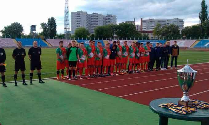 Академія «Черкаський Дніпро-Зоря» здобула кубок Черкас з футболу
