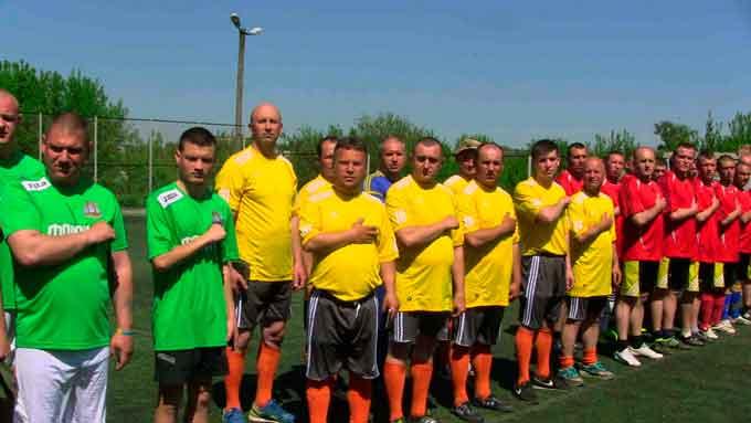 У Звенигородці відбувся турнір з футболу серед учасників АТО