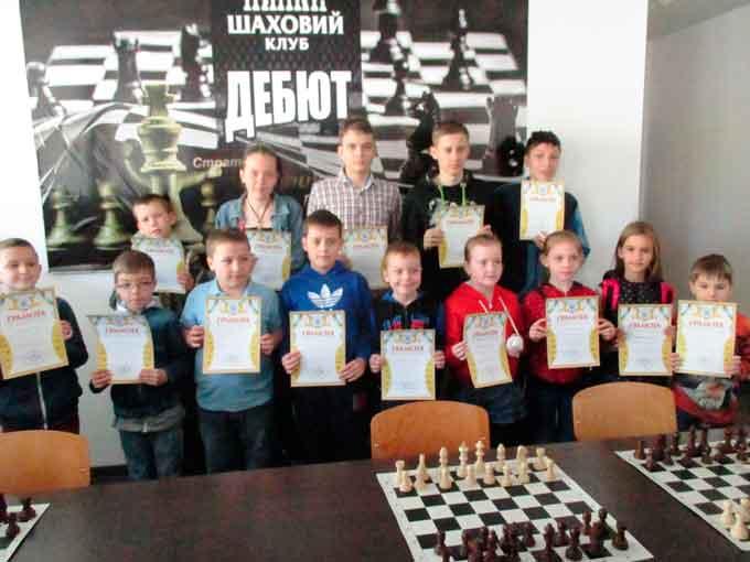 У Черкасах відбувся чемпіонат міста із шахів серед юнаків та дівчат