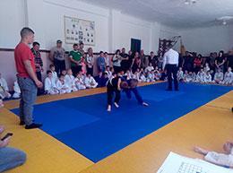 Відбувся відкритий чемпіонат Черкаської районної ДЮСШ «Мрія» з дзюдо серед юнаків
