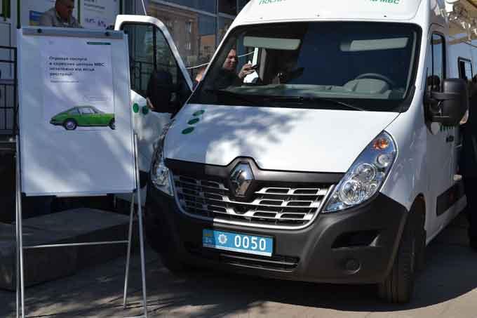 Мобільний сервісний центр МВС побував у Кам'янському та Чигиринському районах