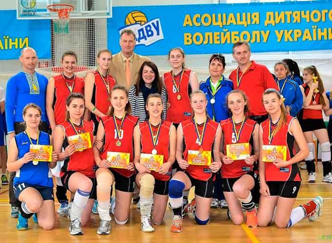 Учениці школи № 10 – переможці Шкільної волейбольної ліги