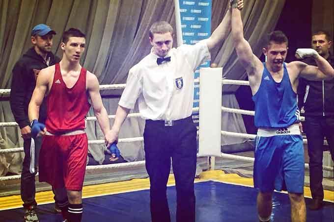 Уманчанин переміг в матчевій зустрічі з боксу Україна – Грузія