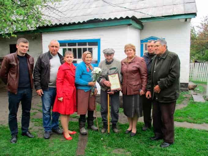 Ветерана привітали з нагоди 90-річного ювілею