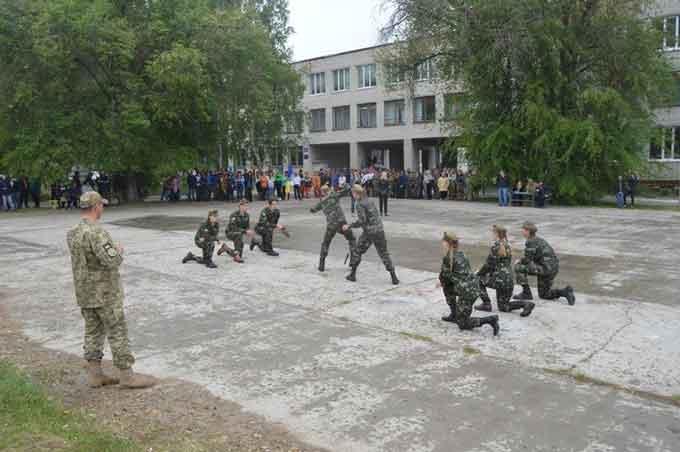У Чигирині проведено районний етап Всеукраїнської дитячо-юнацької військово-патріотичної гри «Сокіл» («Джура»)