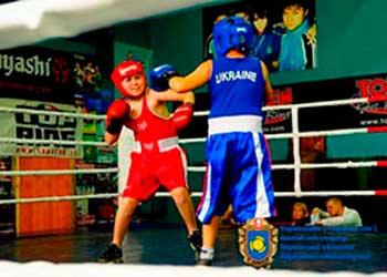 Сімнадцять нагород завоювали боксери Черкаського району