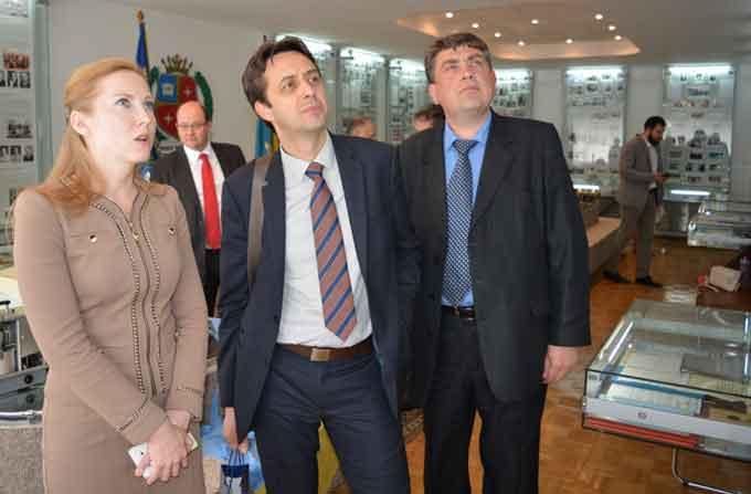 Аташе Посольства Франції відвідали ЧНУ