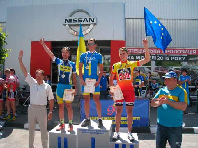 Черкаський велосипедист завоював «бронзу» чемпіонату України