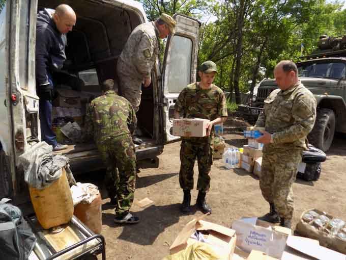 Кам'янщина підтримує бійців на сході України