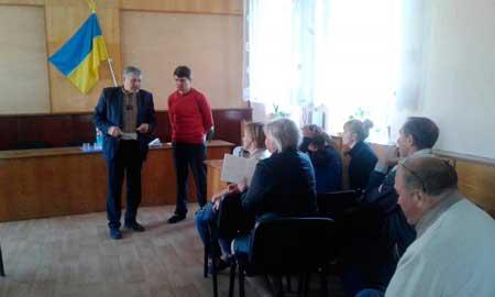 Олексій Лавріненко провів прийом громадян в селі Мліїв