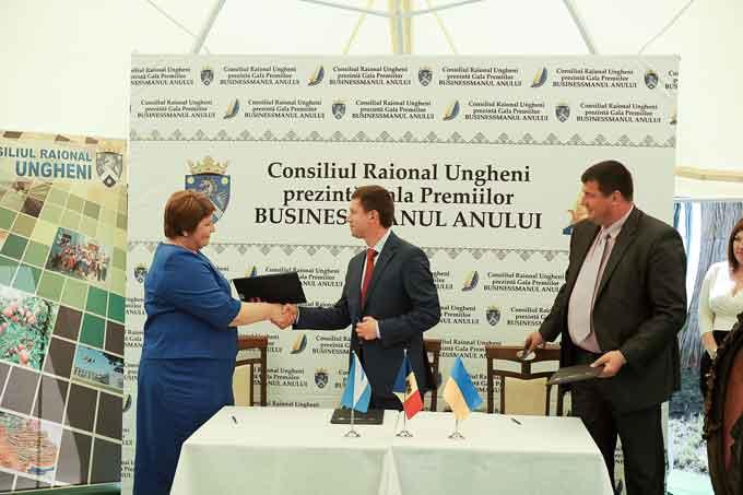 Лисянський район та Унгенський район (Молдова) підписали угоду про співпрацю