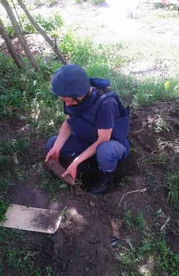На Черкащині за вихідні дні виявлено два вибухонебезпечні предмети