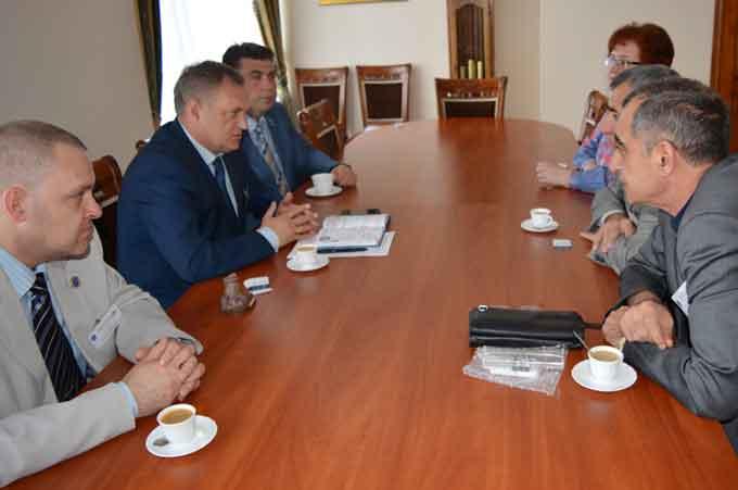 Колеги з Азербайджану запрошують Черкаський національний до співпраці
