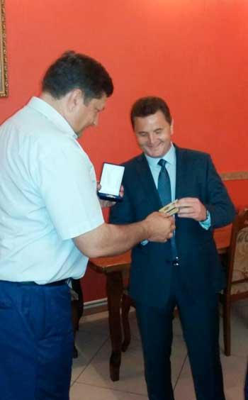 Директора Звенигородського лісгоспу нагороджено за заслуги перед Черкащиною