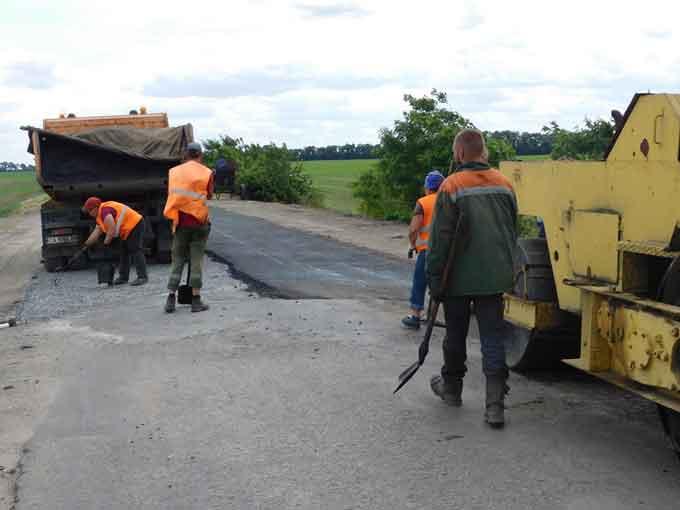 На ремонт доріг Чорнобаївщини виділено 17 млн грн