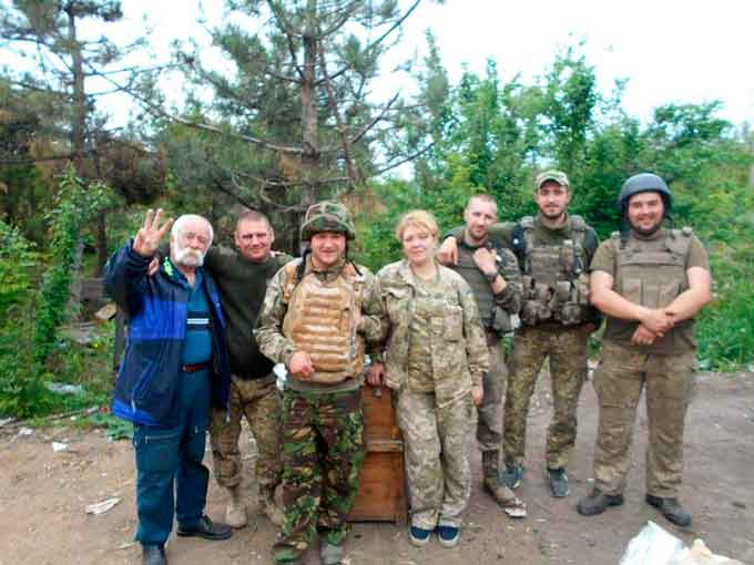 Волонтери зі Звенигородщини завезли 4 тонни провізії у зону АТО