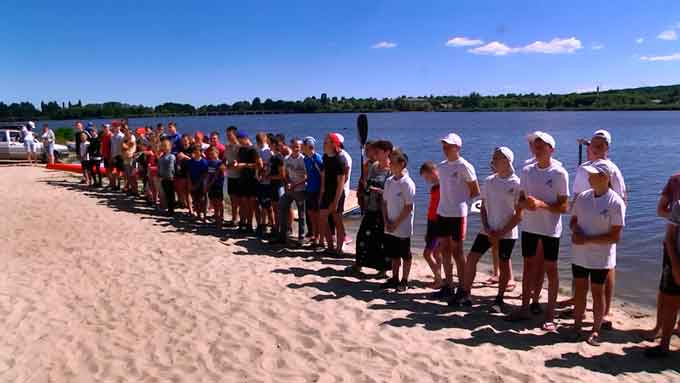 У Смілі пройшли обласні змагання з веслування на байдарках і каное