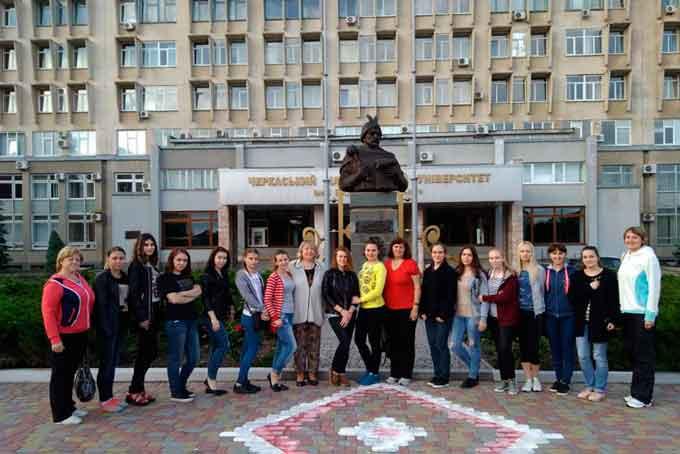 Студенти з університету-тезки відвідали Черкаський національний