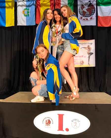 Вихованки Народного художнього танцювального колективу «Вікторія» позашкільного навчального закладу «Багатопрофільний молодіжний центр» Черкаської міської ради достойно представили Черкаси та Україну на 15-му Чемпіонаті Світу із сучасного танцювального спорту, який відбувся у місті Печ (Угорщина). Близько 2 тисячі учасників із 16-ти країн чотири дні на трьох танцювальних майданчиках у всіх танцювальних стилях та напрямках мали змогу продемонструвати свою хореографічну майстерність.