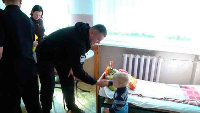 Городищенські полісмени долучилися до пошуків хлопчика з Корсунщини