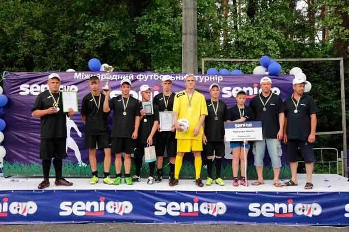 Діти зі Сміли перемогли у міжнародному футбольному турнірі для людей з особливими потребами