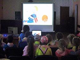 Діти з Степанків зустрілися з мультяшними героями