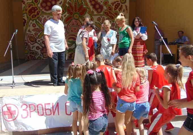 У Звенигородці дітей вчили робити вибір на користь життя