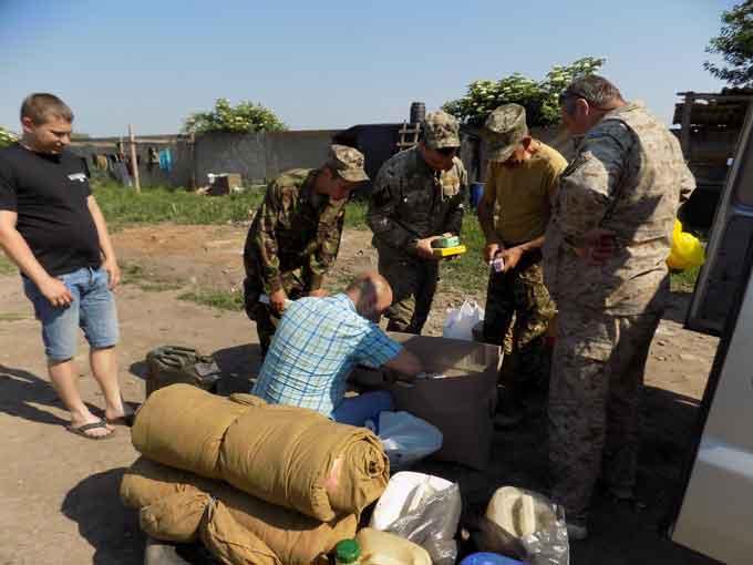 Волонтери Кам'янщини відправили допомогу на Схід