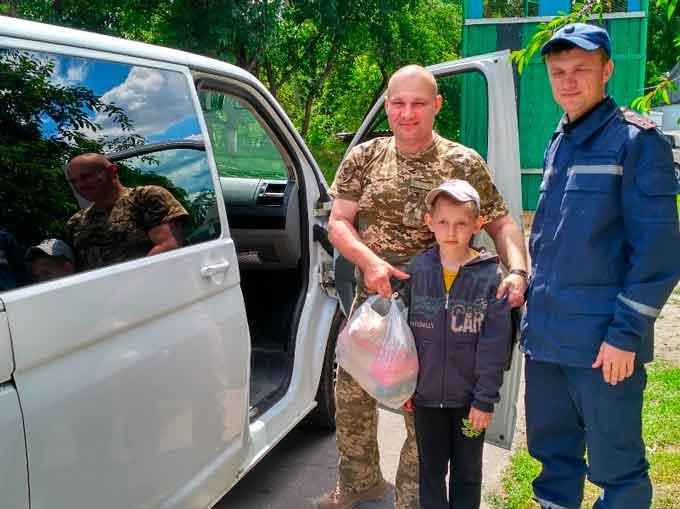 Чорнобаївщина передала гуманітарну допомогу для бійців АТО